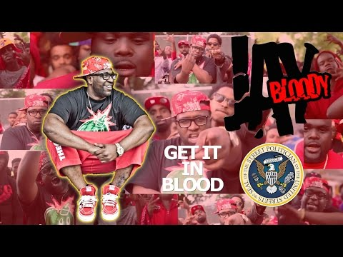 REAL ATLANTA BLOOD GANG MEMBERS IN THE VIDEO WITH BLOODY JAY - GET IT IN BLOOD (OFFICIAL VIDEO)