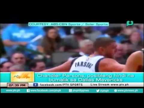 [PTVSports] Chandler Parsons, posibleng hindi na bumalik sa Dallas Mavericks [07|01|16]