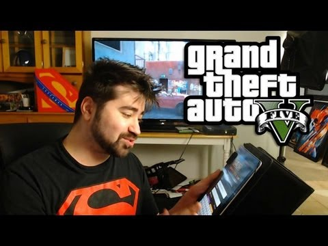 AJ: GTA V Vlog Update (Revie