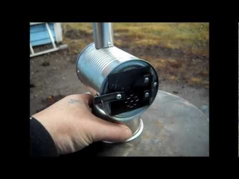 Miniature Woodstove How To Build And Burn Test Part 2