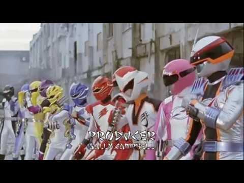 Power Rangers Jungle Fury: Team Up Opening