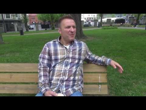 Встреча с Дарюсом Каспарайтисом в Стокгольме на ЧМ-2013. Часть I