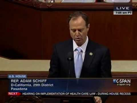 (Armenian) U.S. Rep. Schiff Commemorates Armenian Genocide on U.S. House Floor