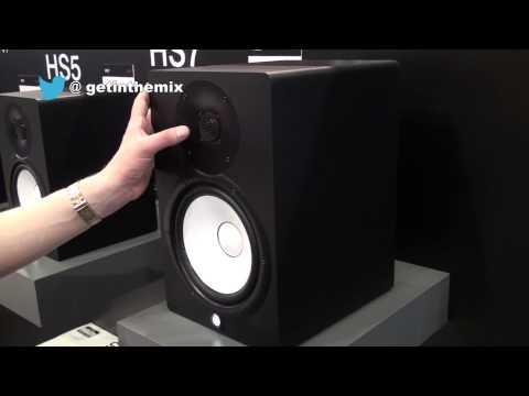 Yamaha HS Range Nearfield Monitors @ MusikMesse 2013 with www.getinthemix.com