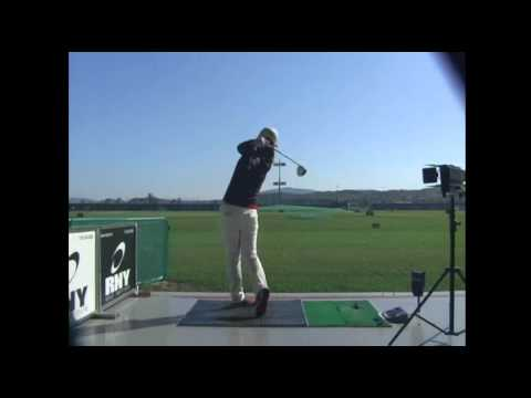 Hee Young Park Golf Swing - Driver (Behind) 박희영 프로 스윙