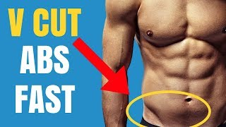5 Exercises To Get Shredded V Cut Abs (No Equipment Needed)