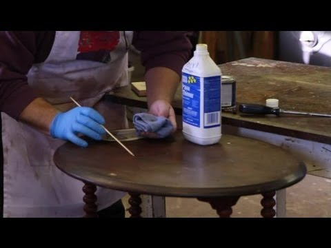 How To Repair Scratches On A Wood Table Furniture Repair Tips Youtube