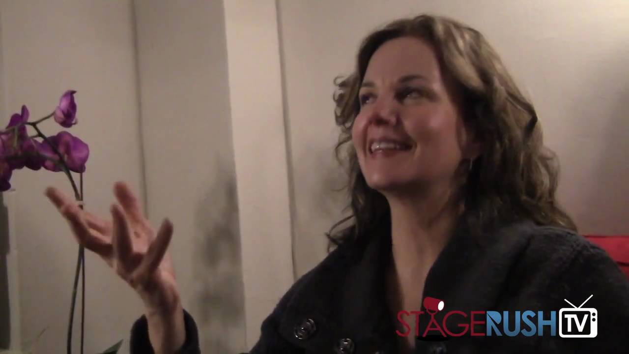 Young Margaret Colin Margaret Colin on Filming