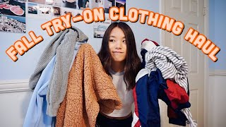 Fall Try-On Clothing Haul 2018