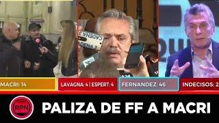 """Crónica hizo su propia """"Consulta Popular"""" en vivo: Fernández-Fernández ganó POR PALIZA"""