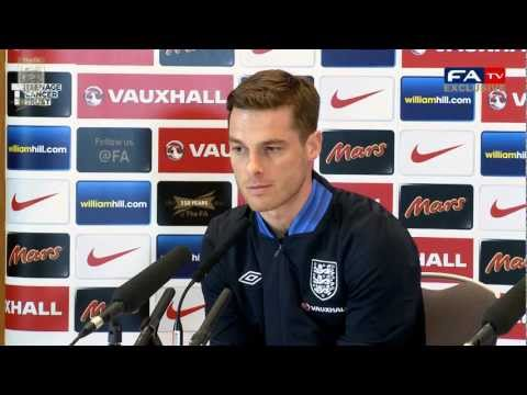 Scott Parker England vs San Marino Press Conference