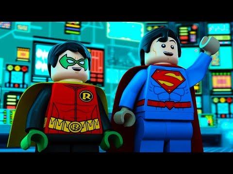 LEGO Justice League Gotham City Breakout | Superman & Robin | DC Kids
