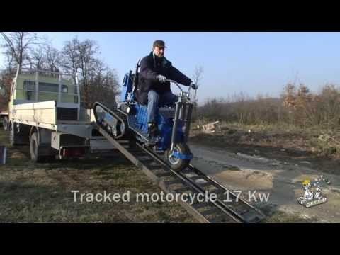 Tracked motorcycle 17 Kw