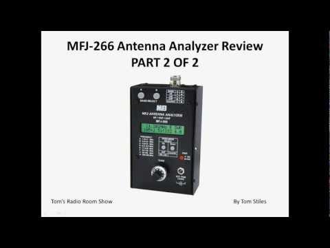 TRRS #0056 - MFJ-266 Antenna Analyzer Review (Part 2 of 2)