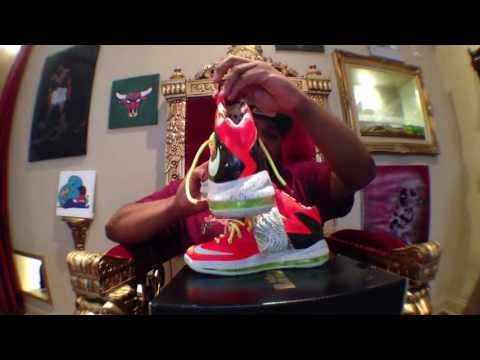 Nike LeBron 10 Elite Total Crimson review