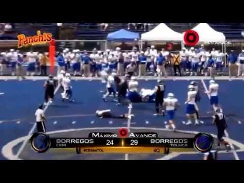 Borregos Toluca vs Borregos CEM temporada 2014