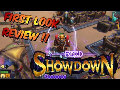 FORCED SHOWDOWN   First Look Review!!