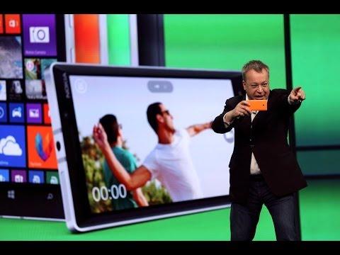 Microsoft Unveils New Software & Nokia new Lumia