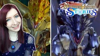 TOWER OF ILLUSION! GOLD RATHIAN & SILVER RATHALOS DEFEATED + EGGS! - Monster Hunter Stories Part 32