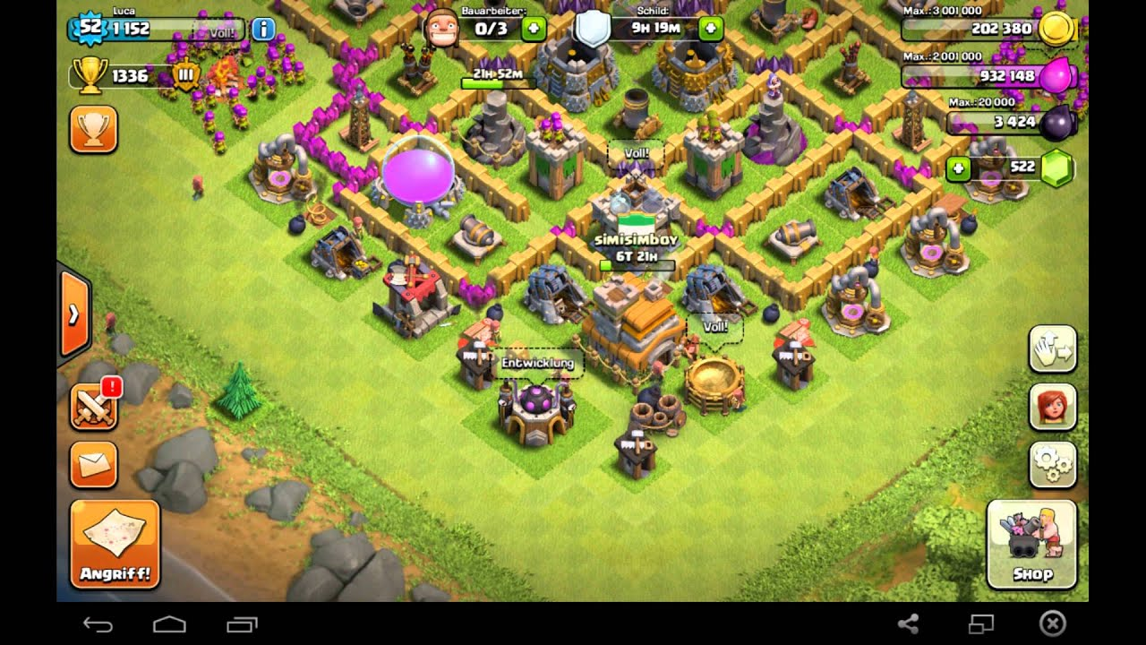 Clash Of Clans Hack For Unlimited Gems January 2014 Youtube | Apps ...