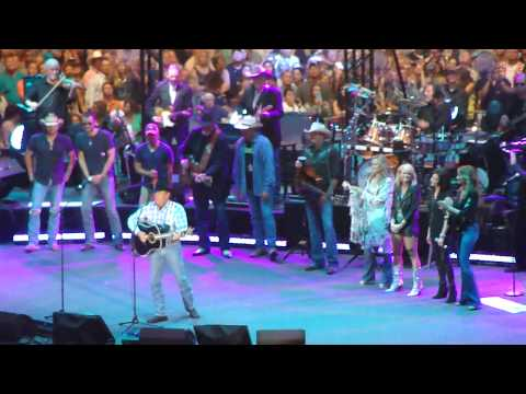 "George Strait ""Cowboy Rides Away"" final concert - Arlington, Texas"
