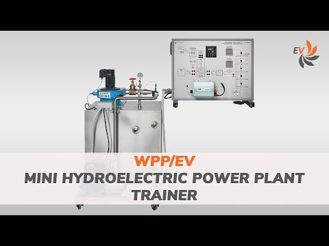 WPP - Mini Hydroelectric power plant trainer