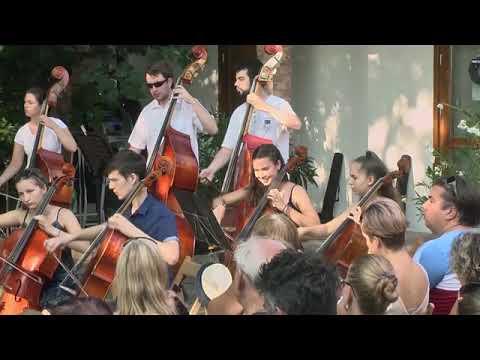 Zuglói Filharmónia Zeneiskolai Zenekar - Gábor Horváth conducting Kaiser Walzer