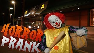 McDonalds PRANK | CLOWN PRANK | FLEX IT