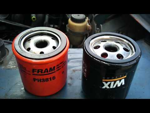 Rant on oil filters. Fram vs. WIX.