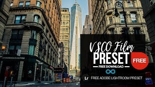 Free VSCO Lightroom Preset Download for Kodak Film Emulation