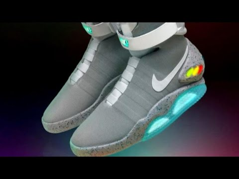 Marty Mcfly's shoes become a reality