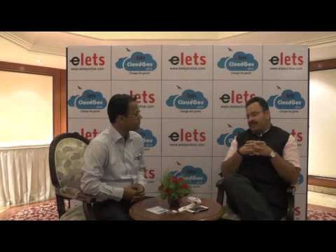 elets Cloud Gov 2014   Interview   Manoj Rajan, Additional Secretary, Department of Administrative R