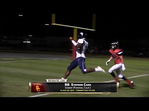 WeAreSC Video: Stephen Carr highlights vs. Norte Vista - 10/1/15
