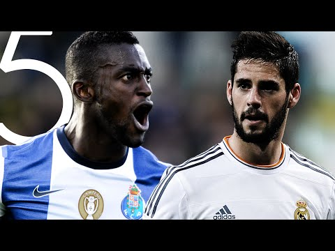 Top 5 Goals Of The Weekend | 8, 9, 10 de abril | Pedro, Isco, Jackson Martinez....
