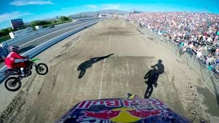 Travis Pastrana's Backflip Finish GoPro Run - Red Bull Straight Rhythm