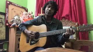 Purono guitar anjon dotto cover by rajib islam raju