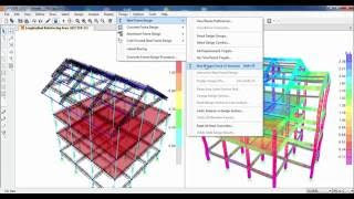 SAP2000-Villa Project-Run Analysis and Detail Design Results
