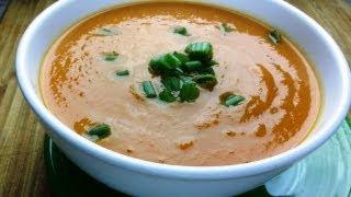 Sweet Potato Carrot Soup Recipe | Vegan Recipe | August Cooking | How to Cook | Vegetarian