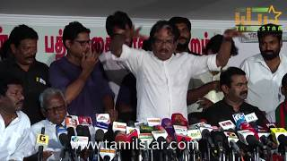 Director Bharathiraja Press Meet