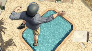 GTA 5 Funny Parkour Jumps/Falls episode 2
