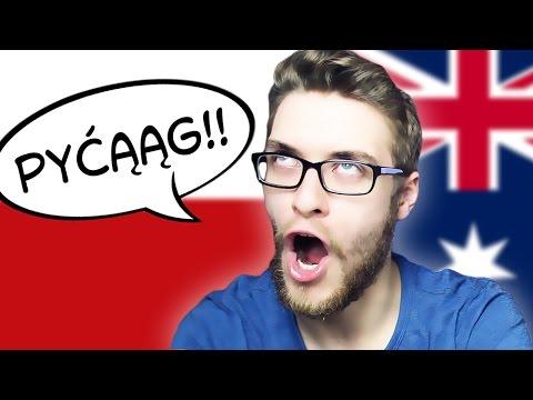 Aussie Guy Tries To Speak Polish   PART 6
