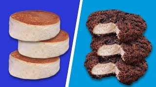 DEEP FRIED PANCAKES 🥞VS FLUFFY PANCAKES 🥞