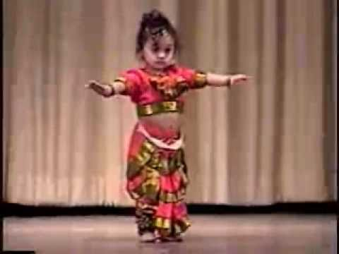 Vinaini's Dance Performance - 1 year Old Bharata Natyam Music Videos