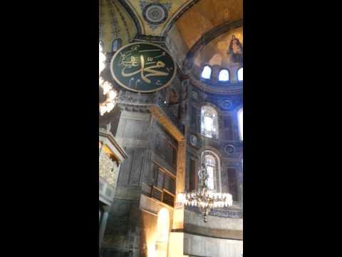 (Turquia) Dentro de Hagia Sophia