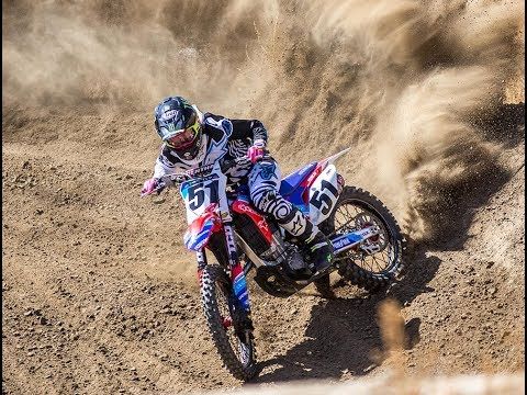 Justin Barcia privateer prep for Monster Energy Cup - Motocross Action Magazine