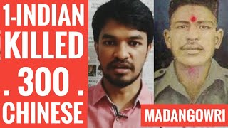 1 Indian vs 300 Chinese Soldiers | Tamil | Jaswant Singh | Madan Gowri | MG