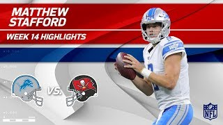 Matthew Stafford's TD Strike & 381 Yards to Defeat Bucs! | Lions vs. Buccaneers | Wk 14 Player HLs
