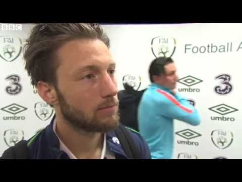Republic of Ireland v Netherlands - Post Match Interview - Harry Arter (27/5/16)
