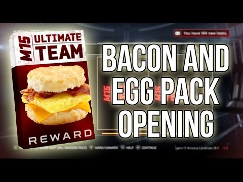 Madden 15 Ultimate Team :: BACON And EGGS Pack Opening! :-XBOX ONE Madden 15 Ultimate Team