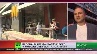Four Moscow McDonalds shut by Russian consumer watchdog
